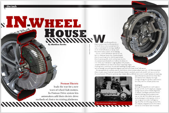 In Wheel House Protean Electric S Drive System Nears Production